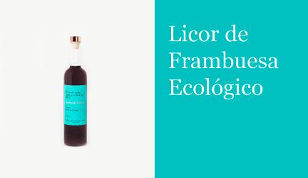 Licor de Frambuesa Ecológico