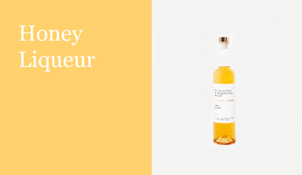 Honey liqueur justina