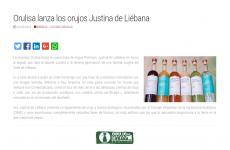 """ORULISA lanza los orujos """"Justina de Liébana"""" , en Canaldis"""