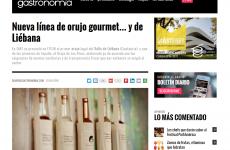 Nueva línea de orujo gourmet … y de Liebana , en el Diario de Gastronomía