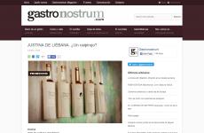 Justina de Liébana , ¿ un caipirujo? , en Gastronostrum