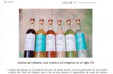 Justina de Liébana , un homenaje a las raices familiares , en Spanishfood