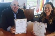 """El Consejero de Medio Rural , Pesca y Alimentación nos felicita , en """"El Diario Montañés"""""""