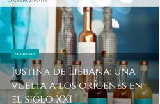 """""""Justina de Liébana :Una vuelta a los orígenes en el siglo XXI"""" , en Gastrospain"""