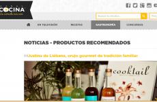 Justina de Liébana , orujo gourmet de orígen familiar , en Canal Cocina