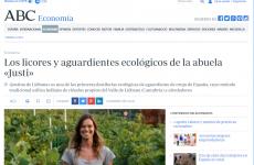"""""""Los licores y aguardientes ecológicos de la abuela Justi """" , en el diario ABC"""