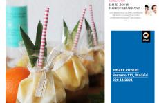 En la revista MujerHoy , Justina con una receta vintage de piña colada